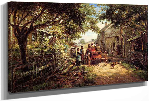 The Conversation By Edward Lamson Henry By Edward Lamson Henry