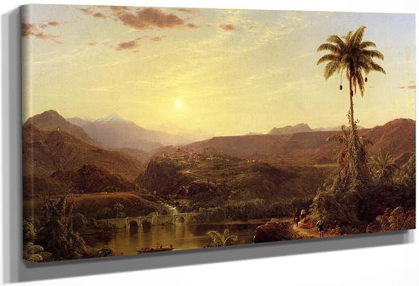 The Cordilleras Sunrise By Frederic Edwin Church By Frederic Edwin Church