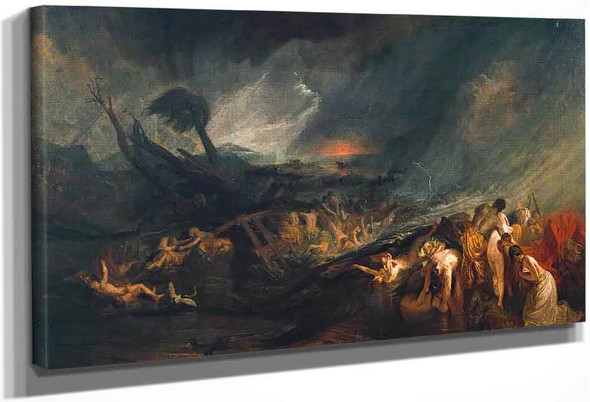 The Deluge By Joseph Mallord William Turner