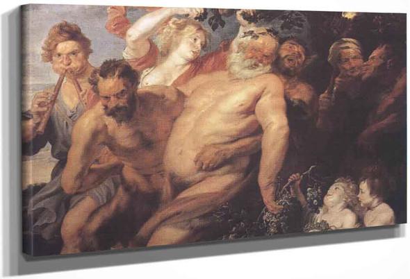 The Drunken Silenus By Peter Paul Rubens