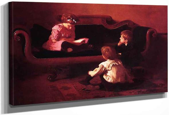 The Fairy Tale By Thomas P. Anshutz