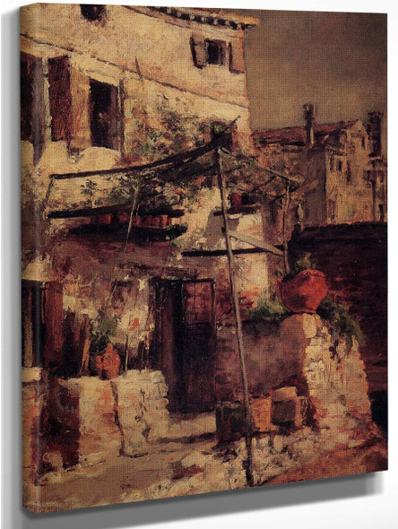A Venetian Scene By John Twachtman