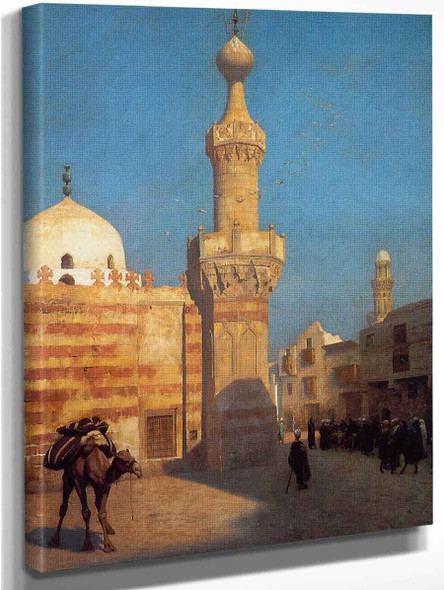 A View Of Cairo By Jean Leon Gerome