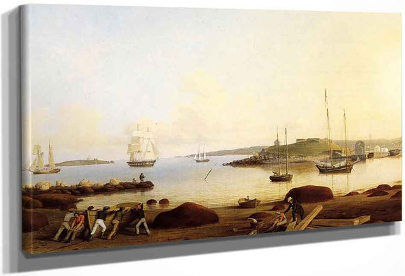 The Fort And Ten Pound Island, Gloucester, Massachusetts By Fitz Henry Lane