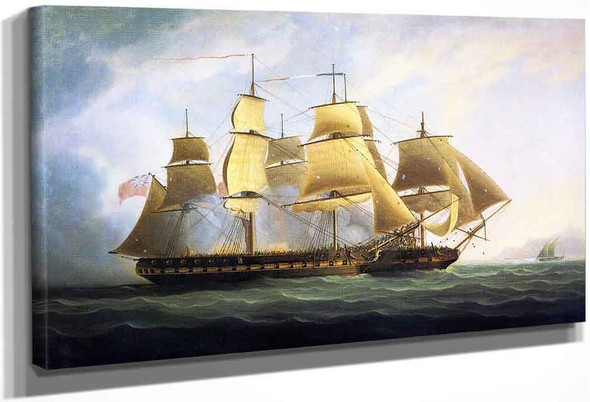 The Frigate H.M.S. By James E. Buttersworth