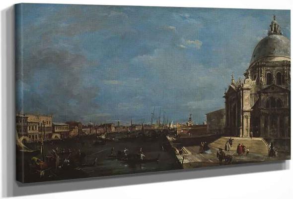 The Grand Canal, Venice By Francesco Guardi