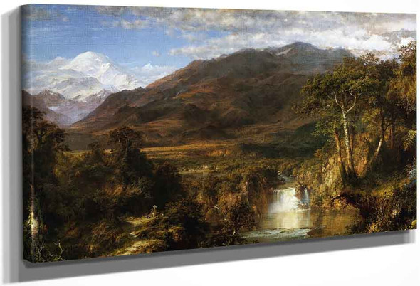 The Heart Of The Andes By Frederic Edwin Church By Frederic Edwin Church