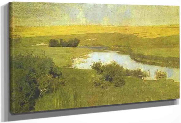 The Istra River. Study By Isaac Levitan