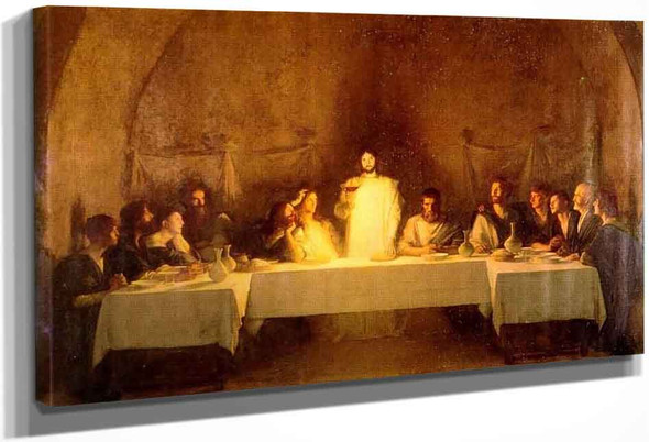The Last Supper By Pascal Dagnan Bouveret