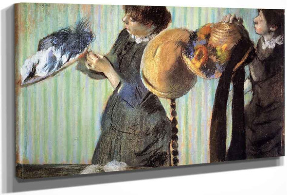 The Little Milliners By Edgar Degas