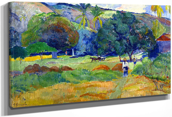 The Little Valley By Paul Gauguin