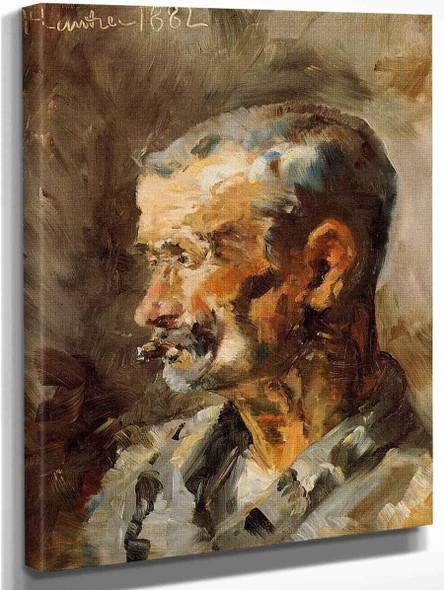 A Worker At Celeyran By Henri De Toulouse Lautrec
