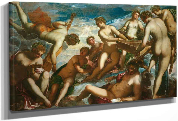 The Muses By Jacopo Tintoretto