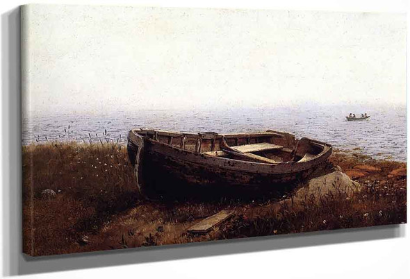 The Old Boat By Frederic Edwin Church By Frederic Edwin Church