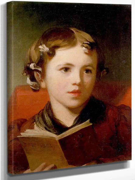 A Young Girl By Thomas Sully