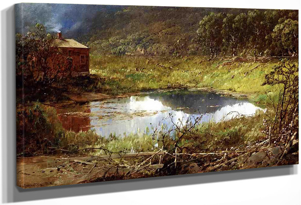 The Pond By William Louis Sonntag