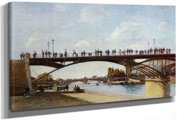 The Pont Des Arts, Paris By Stanislas Lepine
