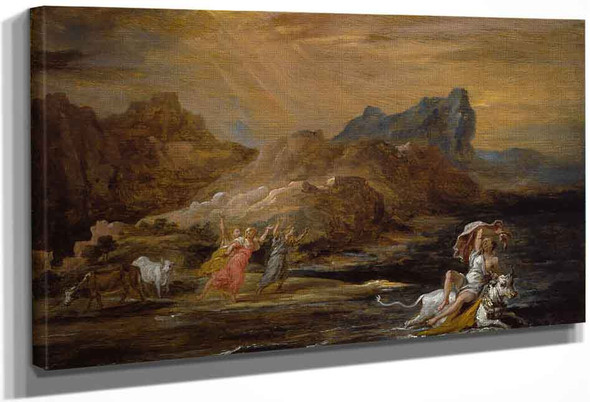 The Rape Of Europa (After Titian) By David Teniers The Younger(Belgian, 1610 1690)