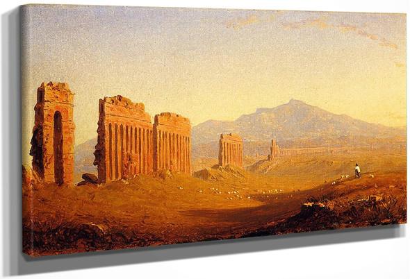 The Roman Campagna By Sanford Robinson Gifford