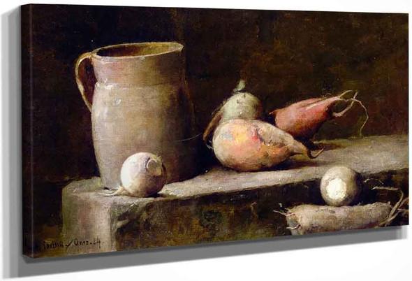 The Root Cellar By Emil Carlsen By Emil Carlsen