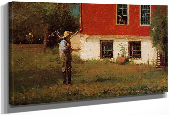 The Rustics By Winslow Homer