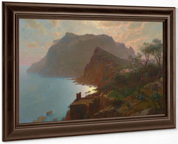 The Sea From Capri by William Stanley Haseltine