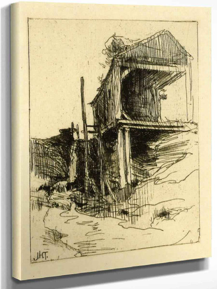 Abandoned Mill By John Twachtman