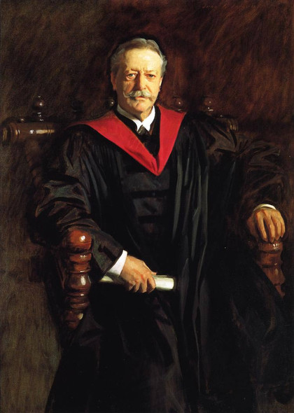 Abbott Lawrence Lowell By John Singer Sargent By John Singer Sargent