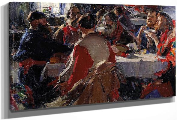 The Tea Party By Abram Efimovich Arkhipov