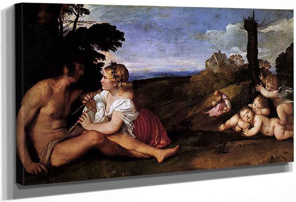 The Three Ages Of Man By Titian