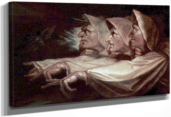 The Three Witches By Henry Fuseli By Henry Fuseli