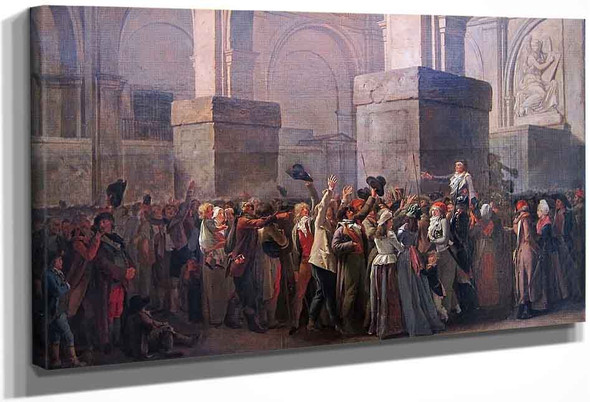 The Triumph Of Marat By Louis Leopold Boilly By Louis Leopold Boilly