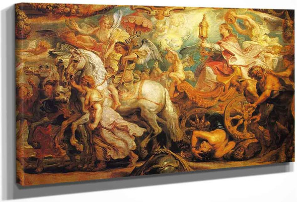 The Triumph Of The Church By Peter Paul Rubens
