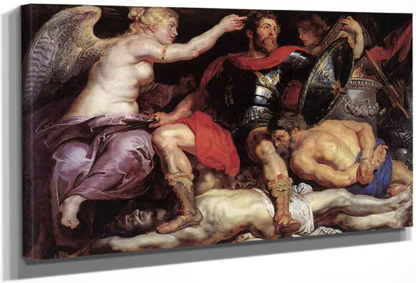 The Triumph Of Truth 2 By Peter Paul Rubens