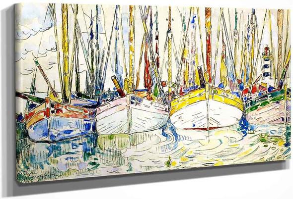 The Tuna Boats, Groix By Paul Signac