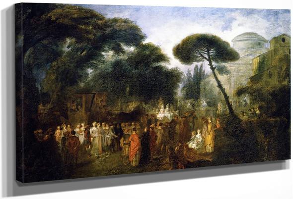 The Village Bride By Jean Antoine Watteau French1684 1721