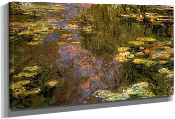 The Water Lily Pond13 By Claude Oscar Monet