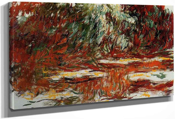The Water Lily Pond2 By Claude Oscar Monet