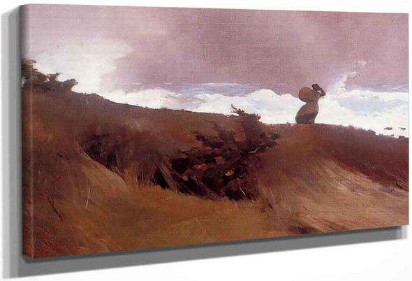 The West Wind By Winslow Homer
