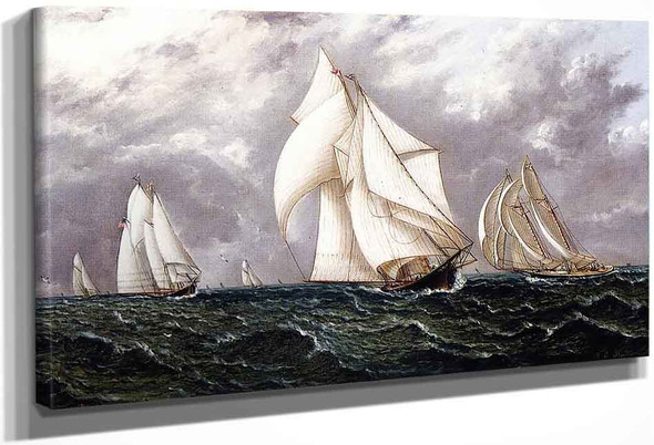 The Yacht Race1 By James E. Buttersworth