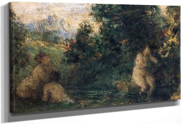 Three Bathers By Henri Fantin Latour By Henri Fantin Latour