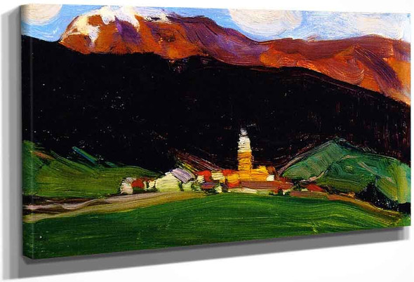 Tinzen , Switzerland By Clarence Gagnon By Clarence Gagnon
