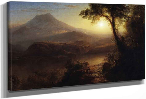 Tropical Scenery By Frederic Edwin Church By Frederic Edwin Church