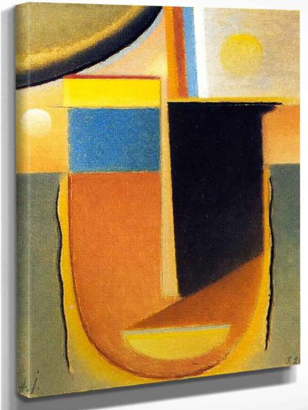 Abstract Head Lucidity By Alexei Jawlensky By Alexei Jawlensky