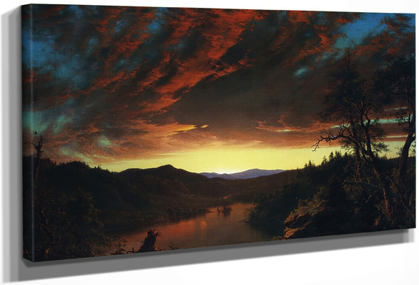 Twilight In The Wilderness By Frederic Edwin Church By Frederic Edwin Church