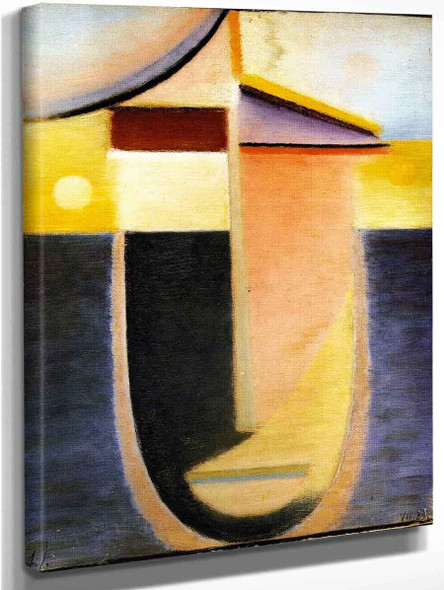 Abstract Head Morning Light 1 By Alexei Jawlensky By Alexei Jawlensky