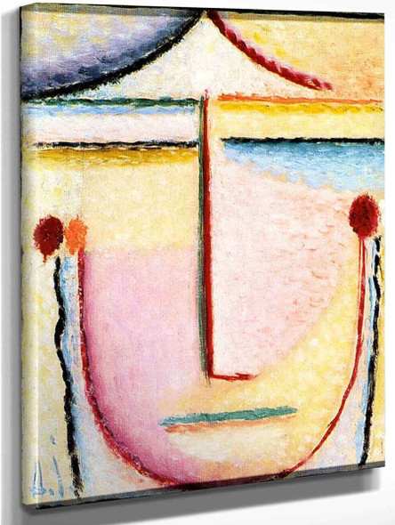 Abstract Head Spring By Alexei Jawlensky By Alexei Jawlensky