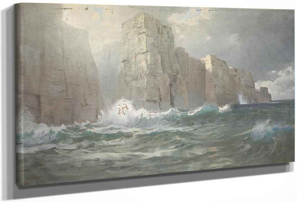 Untitled By William Trost Richards By William Trost Richards
