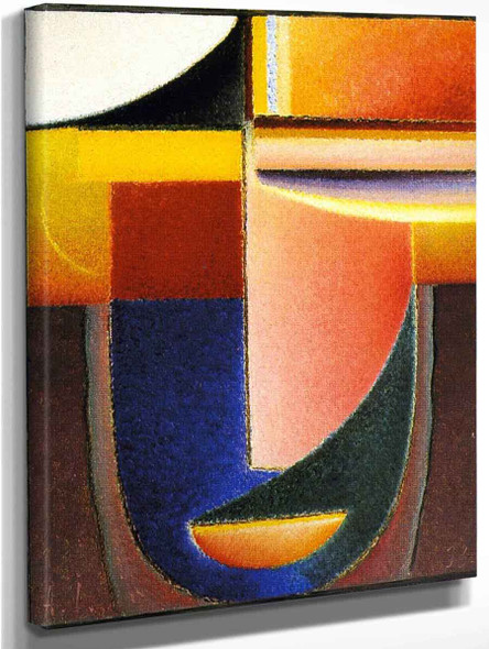 Abstract Head The Word By Alexei Jawlensky By Alexei Jawlensky