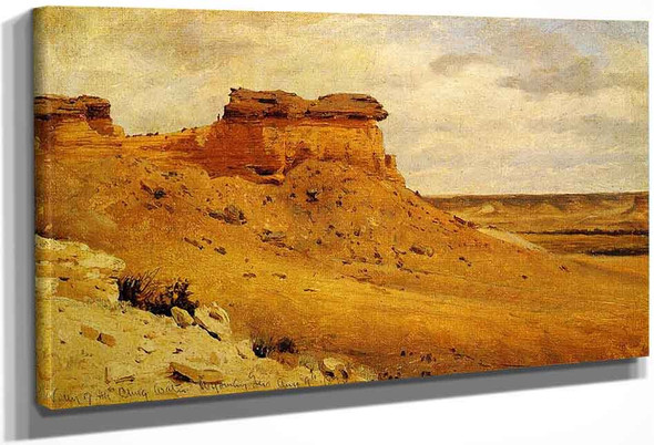 Valley Of The Chug Water By Sanford Robinson Gifford